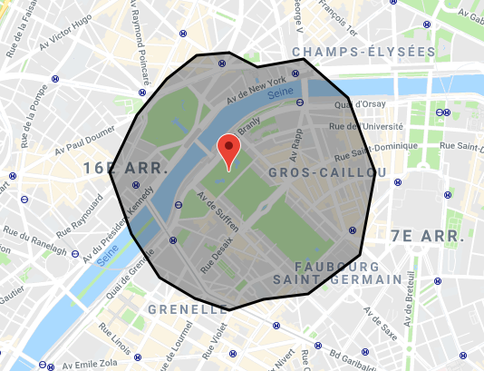 isochrone google maps